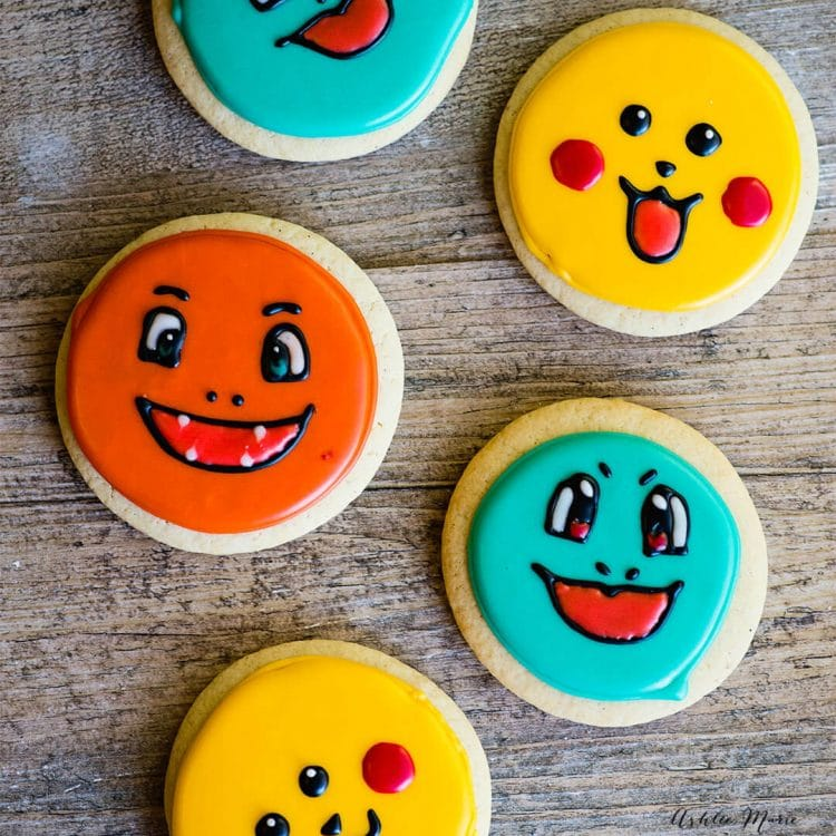 pokemon sugar cookies tutorials