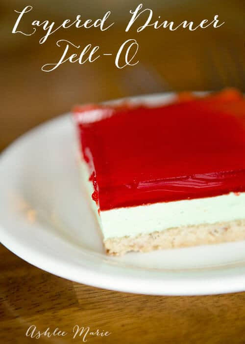 layered dessert jello