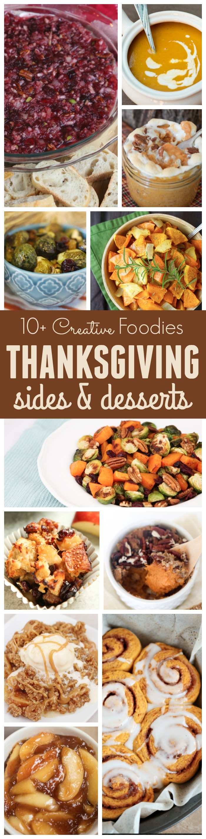 10+ Thanksgiving Sides & Desserts Recipes