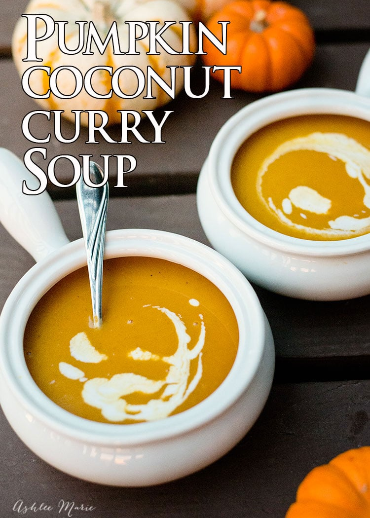 This soup not only smells amazing and has the perfect fall coloring it's also delicious and easy to make