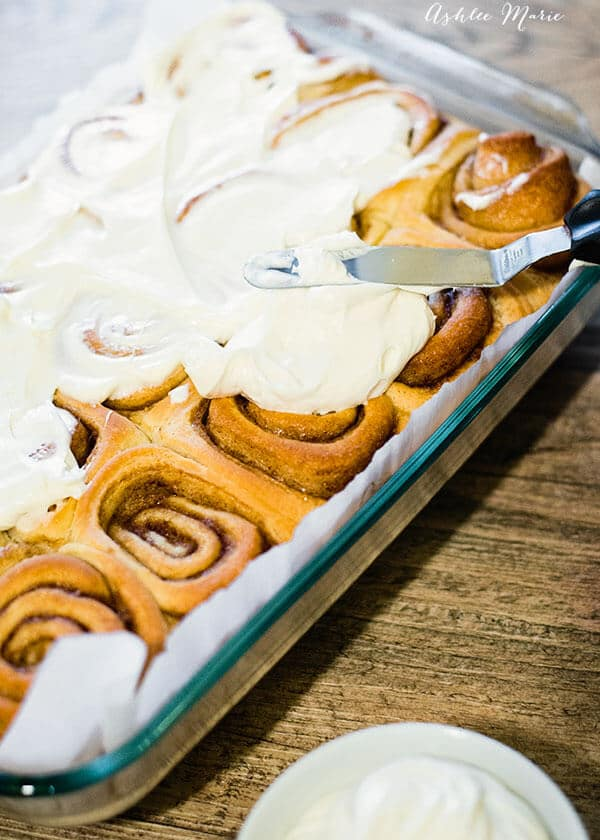 a video tutorial for easy and delicious cinnamon rolls