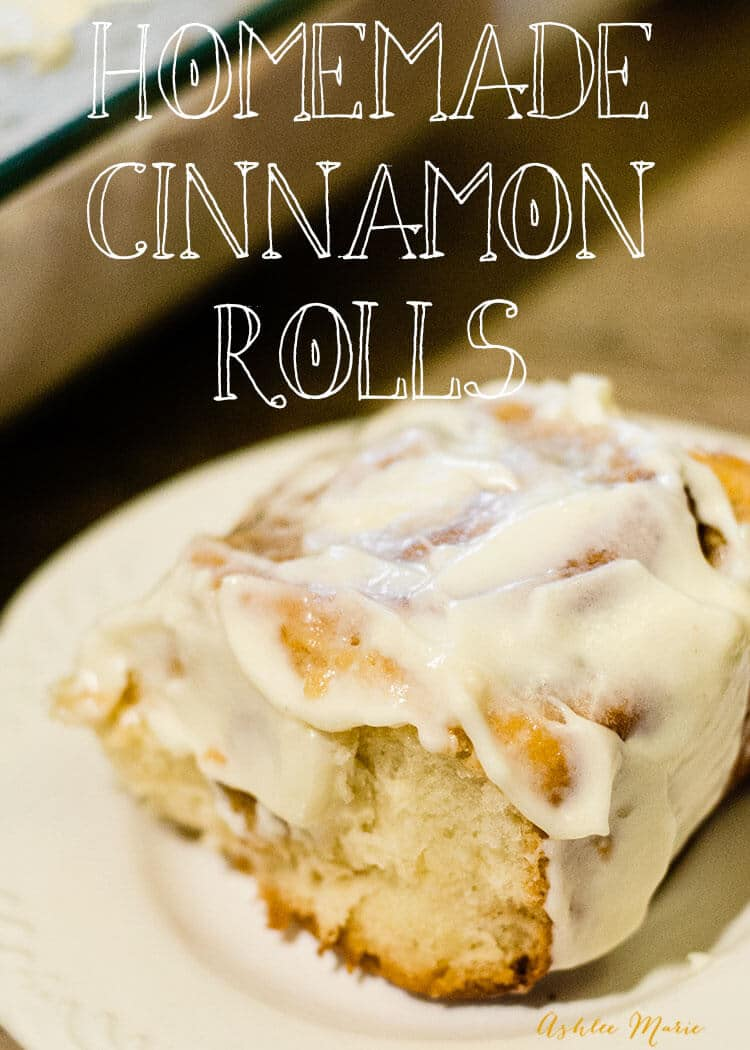comfort food at it's best with these cinnamon rolls video tutorial
