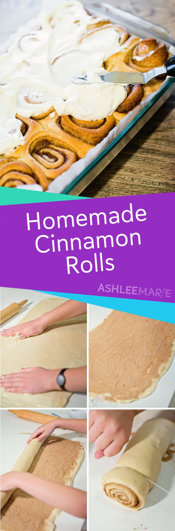 these homemade cinnamon rolls are so easy to make and they are a huge hit plus a video tutorial