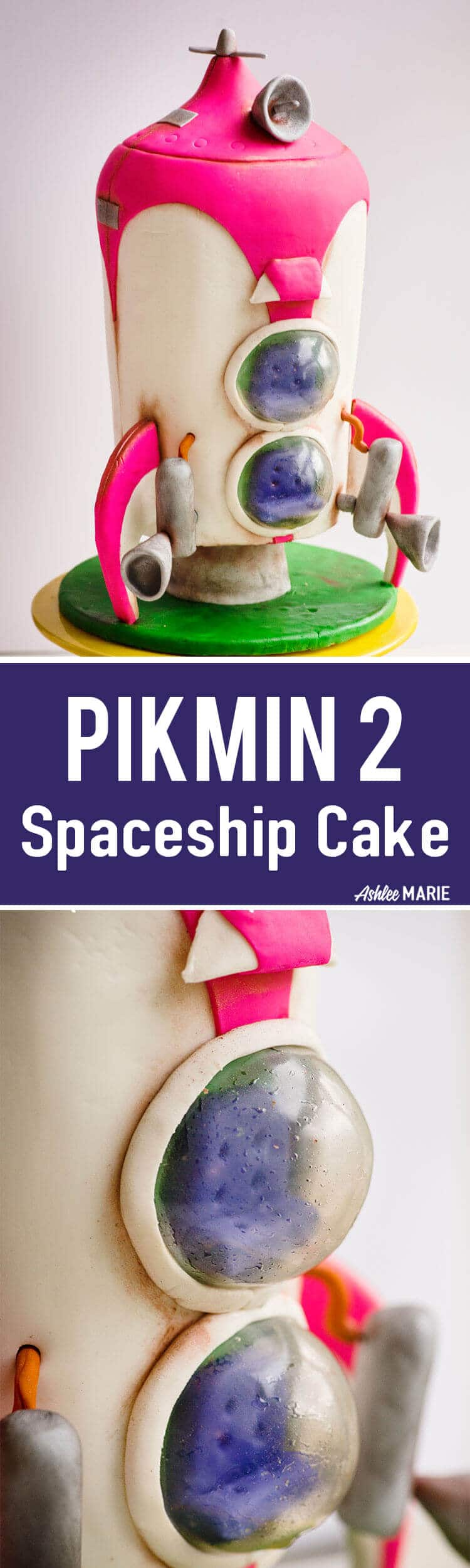 this pikmin 2 spaceship was for my sons birthday party