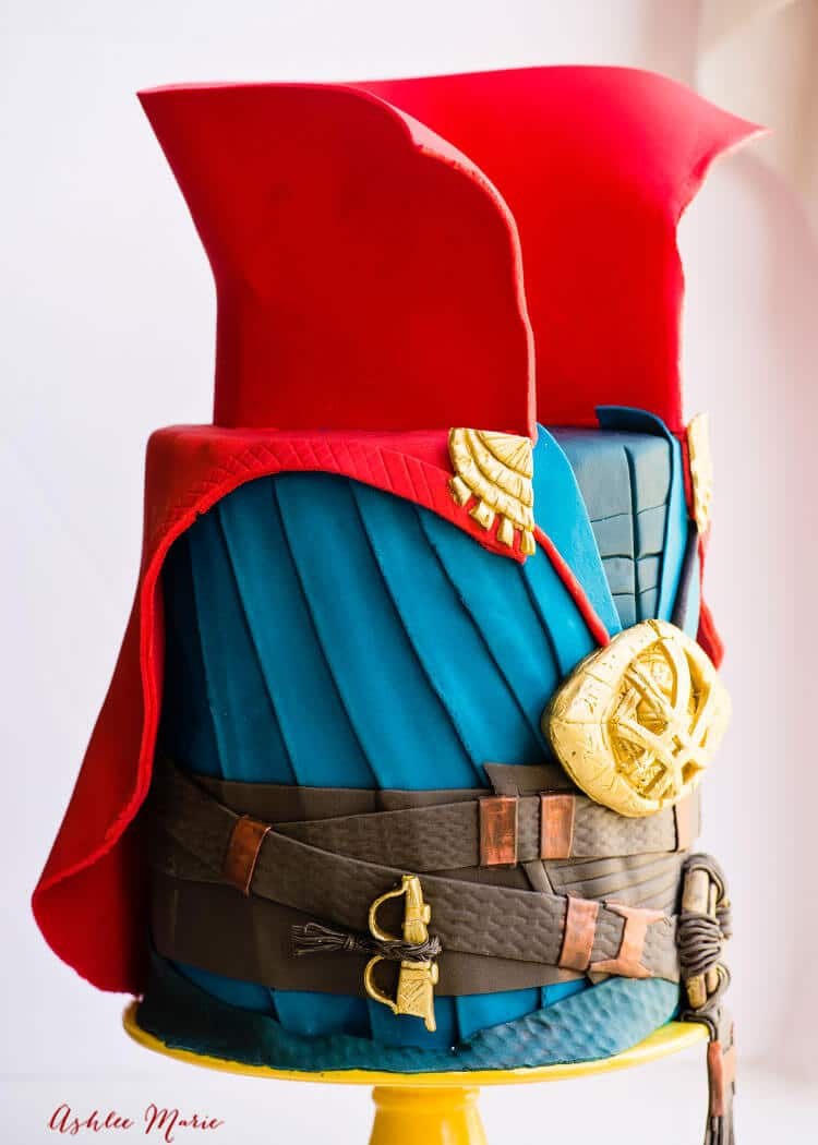 Doctor Strange Cake Video Tutorials Ashlee Marie