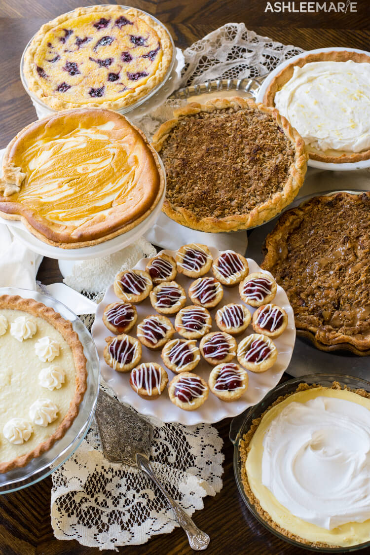A collection of 23 recipes for the most delicious pies you've ever seen. | Winter | Pie | Holiday | Dessert | Ashlee Marie | #holidaydesserts #holidaypies #pierecipes #desserts