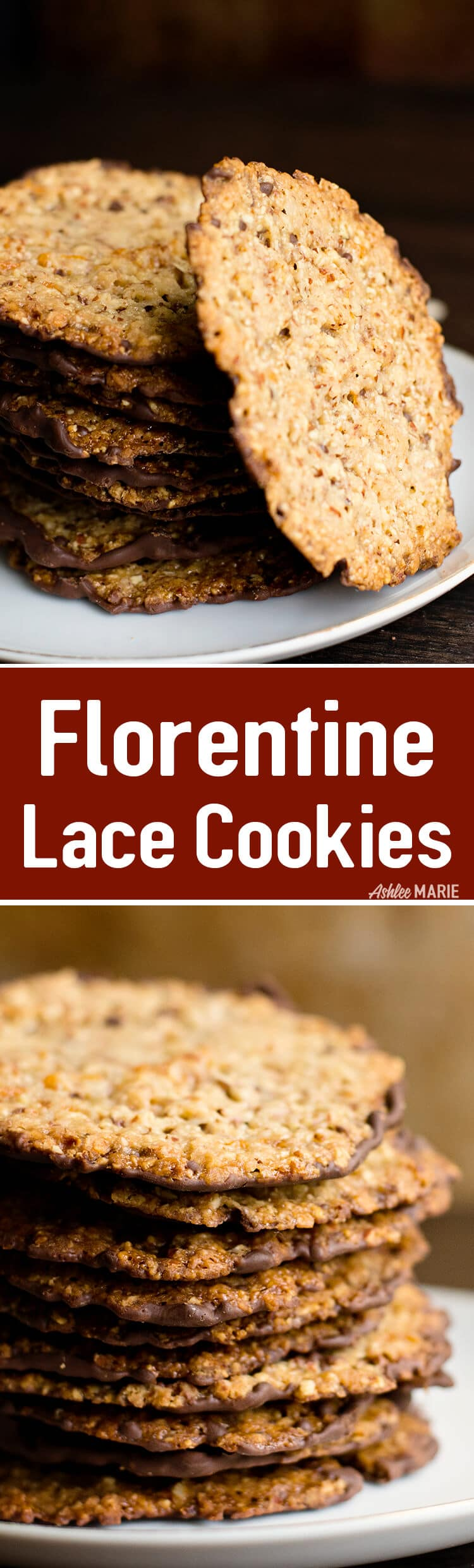 Italian Florentine Almond Lace Cookie Recipe | Ashlee ...