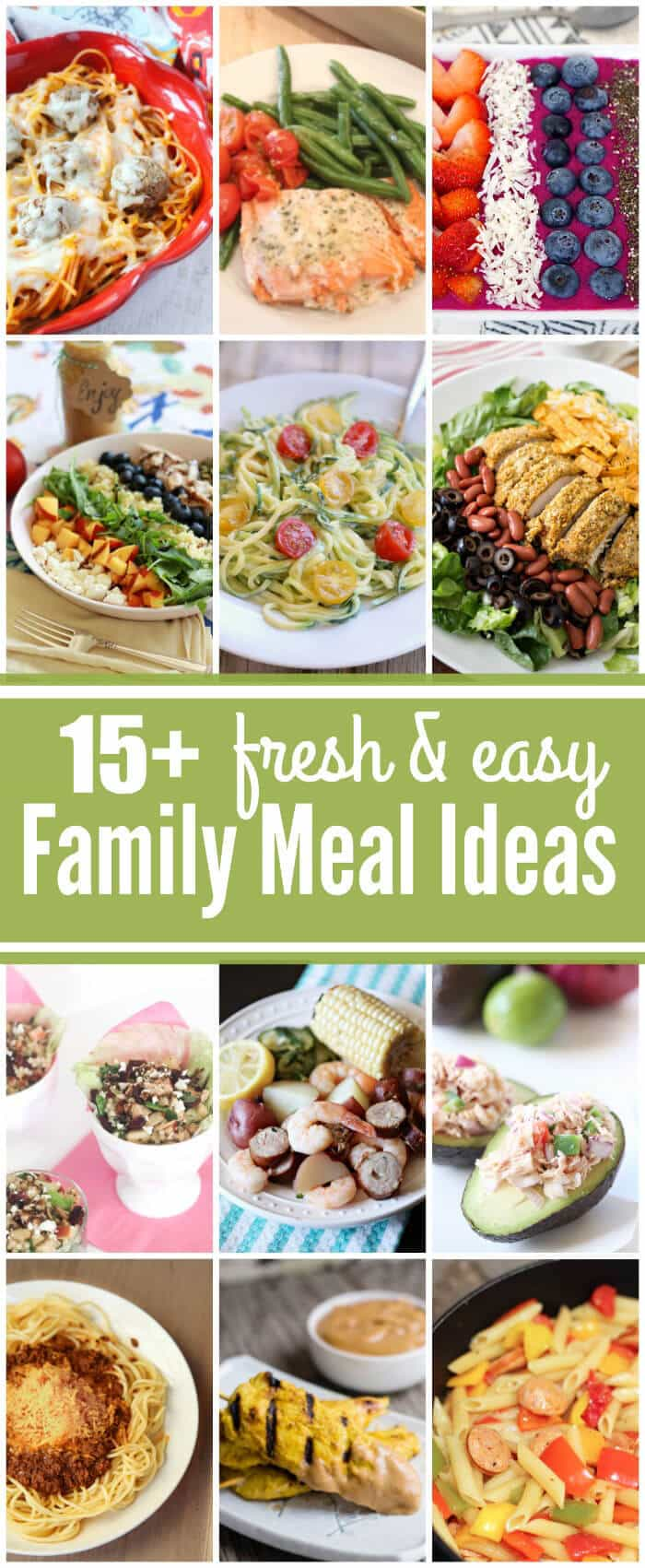 Fresh & Easy Family Meal Ideas