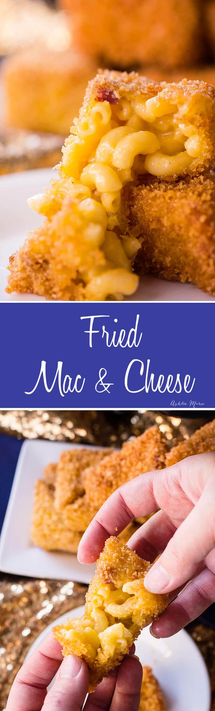 deep fried mac and cheese bites recipe and video
