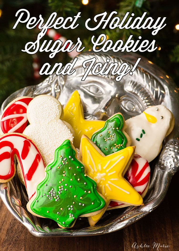 perfect holiday sugar cookies - Decorations For Christmas Sugar Cookies