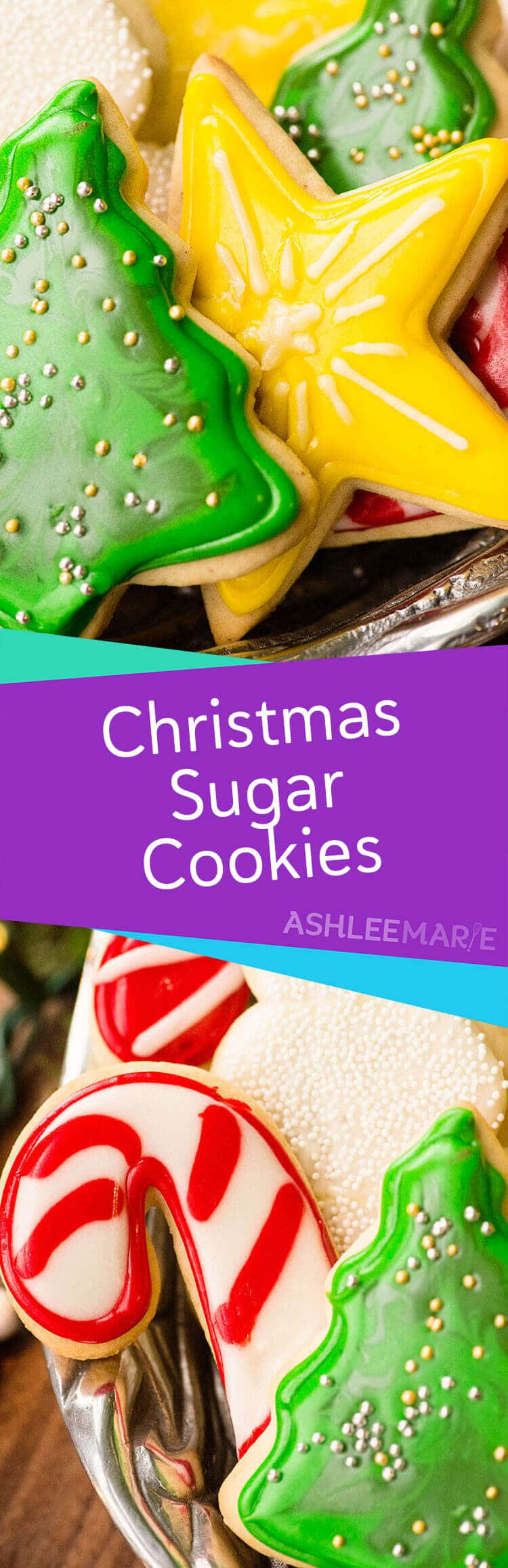 perfect sugar cookie and icing recipe video tutorial - Christmas Cookie Decorating Tips