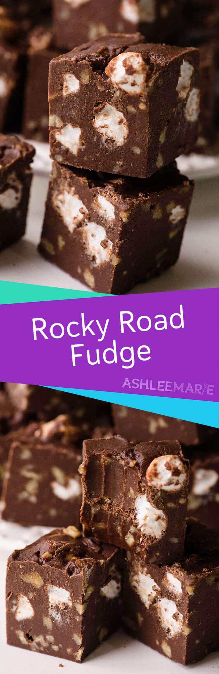 rocky road fudge recipe video tutorial