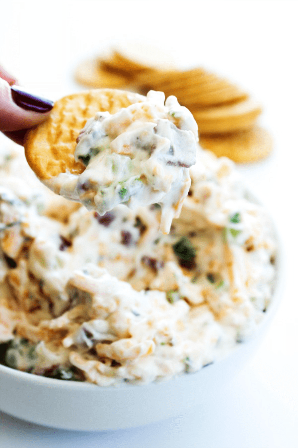 Fully Loaded Ranch Dip {A Dash of Sanity}