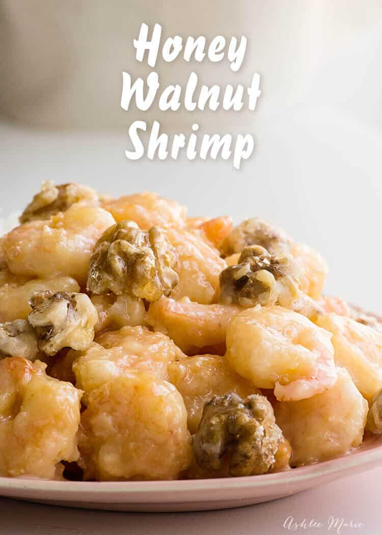 honey walnut shrimp recipe - video tutorial