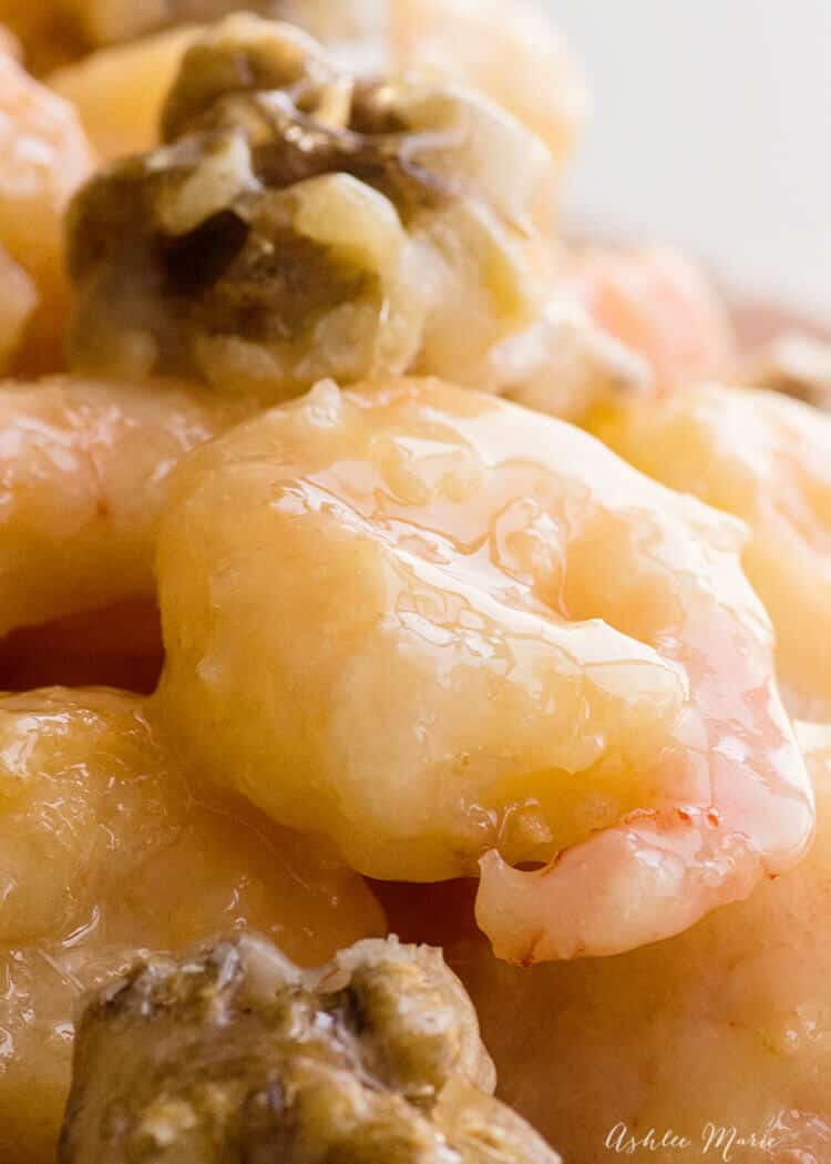 recipe for honey walnut shrimp with video tutorial