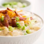 one pot loaded baked potato soup