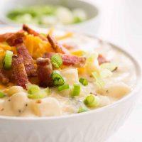 one pot loaded baked potato soup