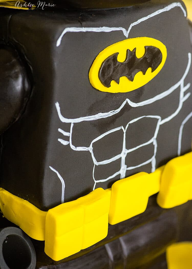 How to make a Standing LEGO Batman Cake | Ashlee Marie - real fun ...