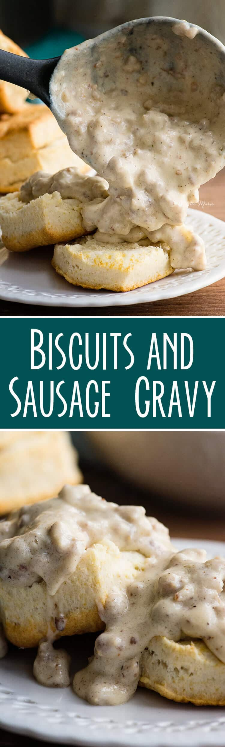 Six Ingredient Biscuits And Sausage Gravy Recipe Ashlee Marie Real Fun With Real Food
