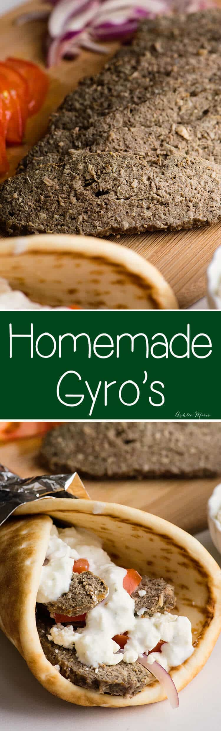 make traditional gyros at home without a rotisserie