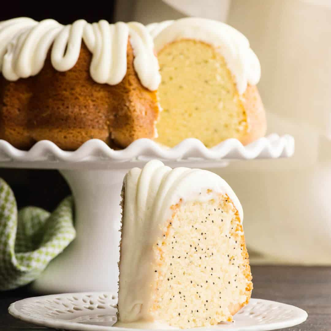Almond Poppy Seed Bundt Cake Recipes