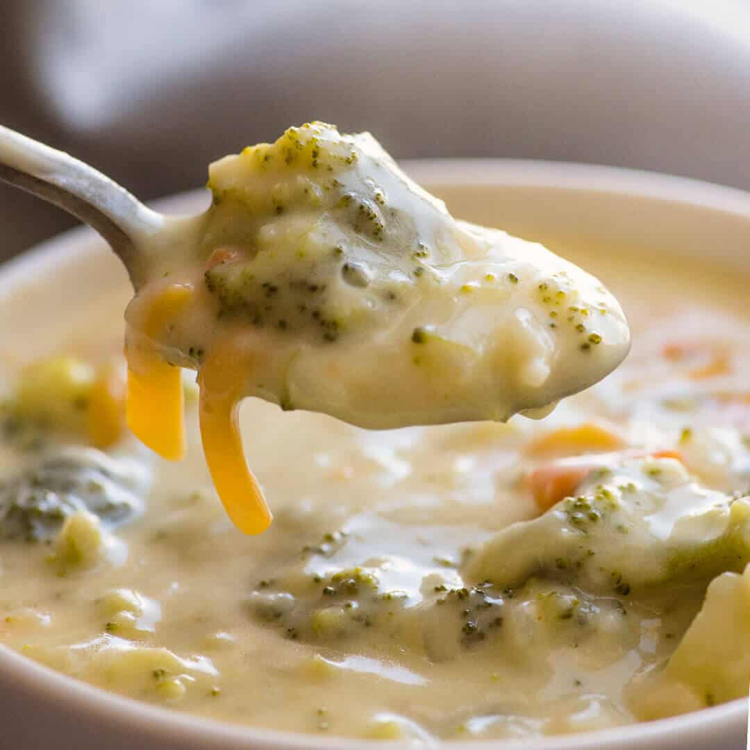 cheddar broccoli soup recipe