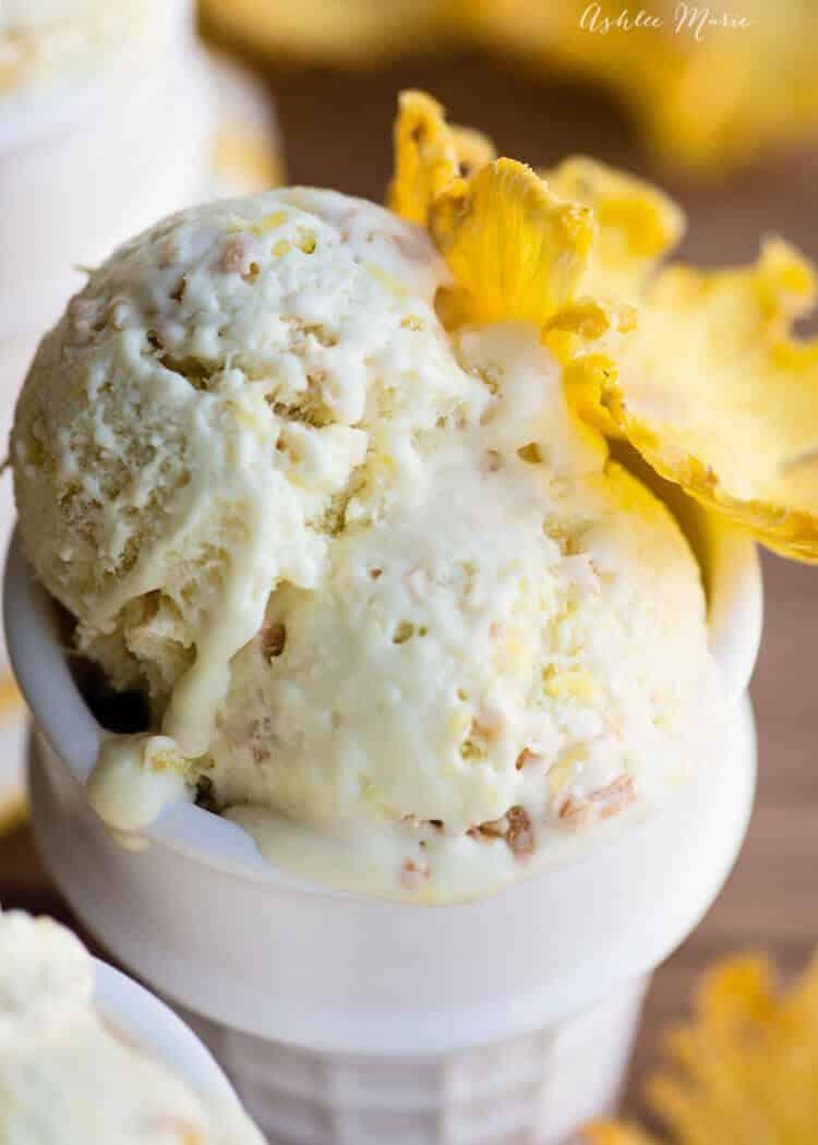 coconut and pineapple ice cream recipe