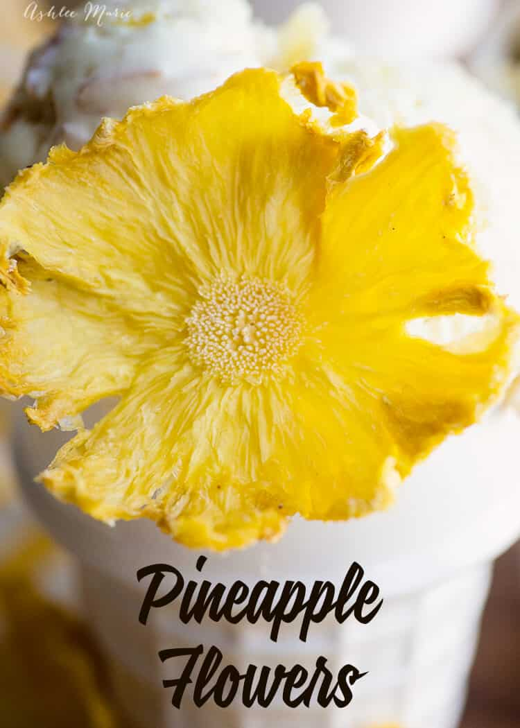 homemade pineapple flower tutorial