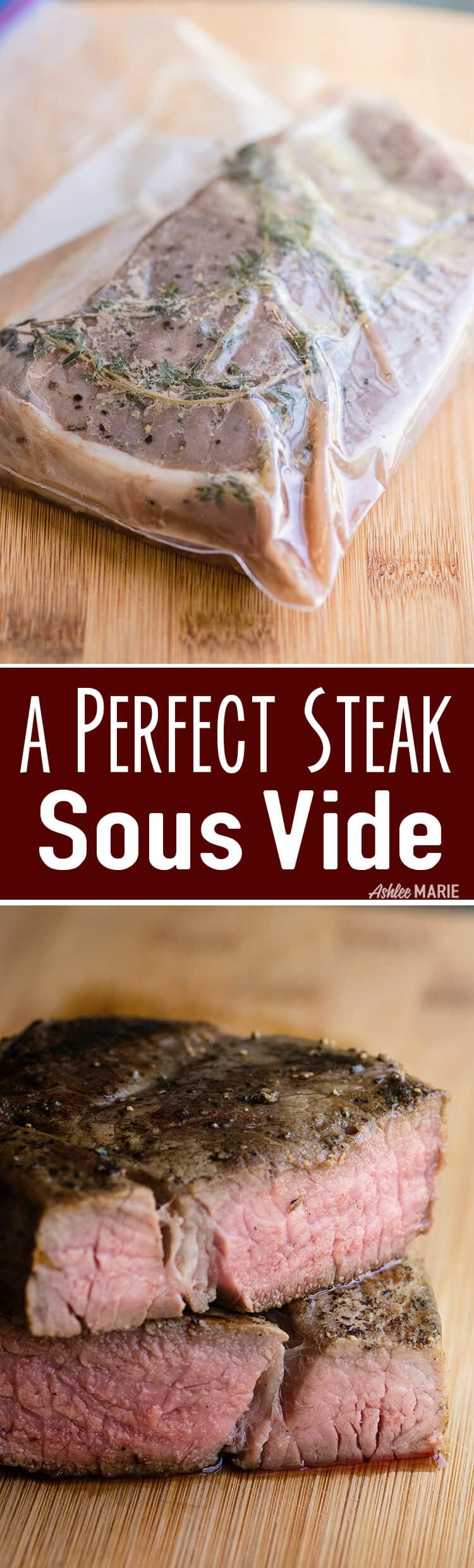 how to use sous vide to make the perfect steak