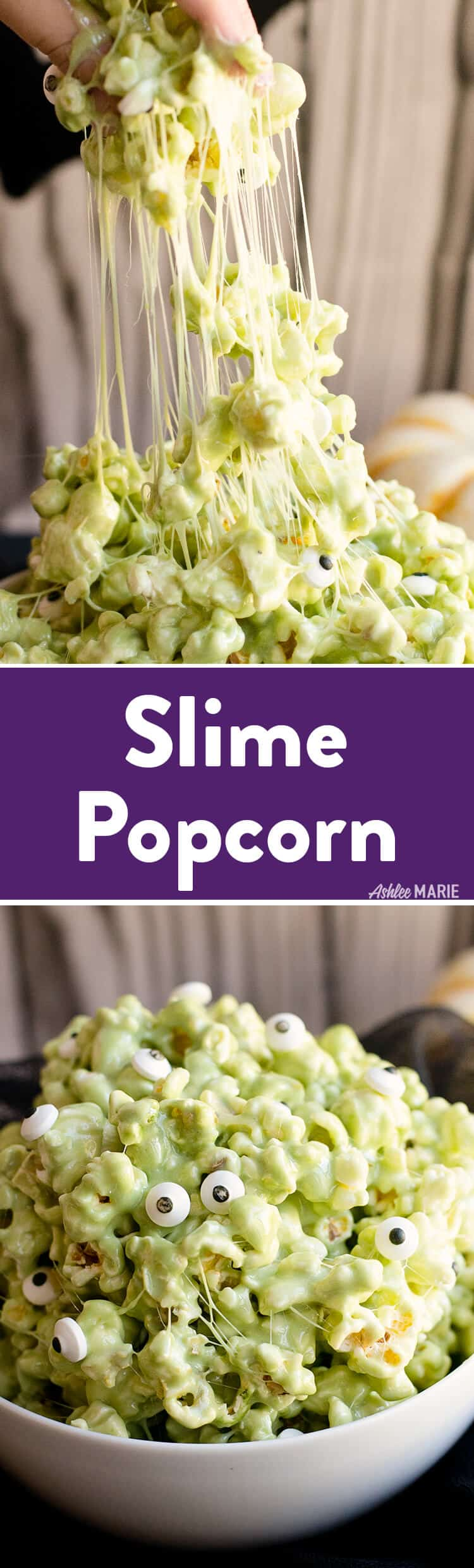 Marshmallow Slime Popcorn | Ashlee Marie - real fun with