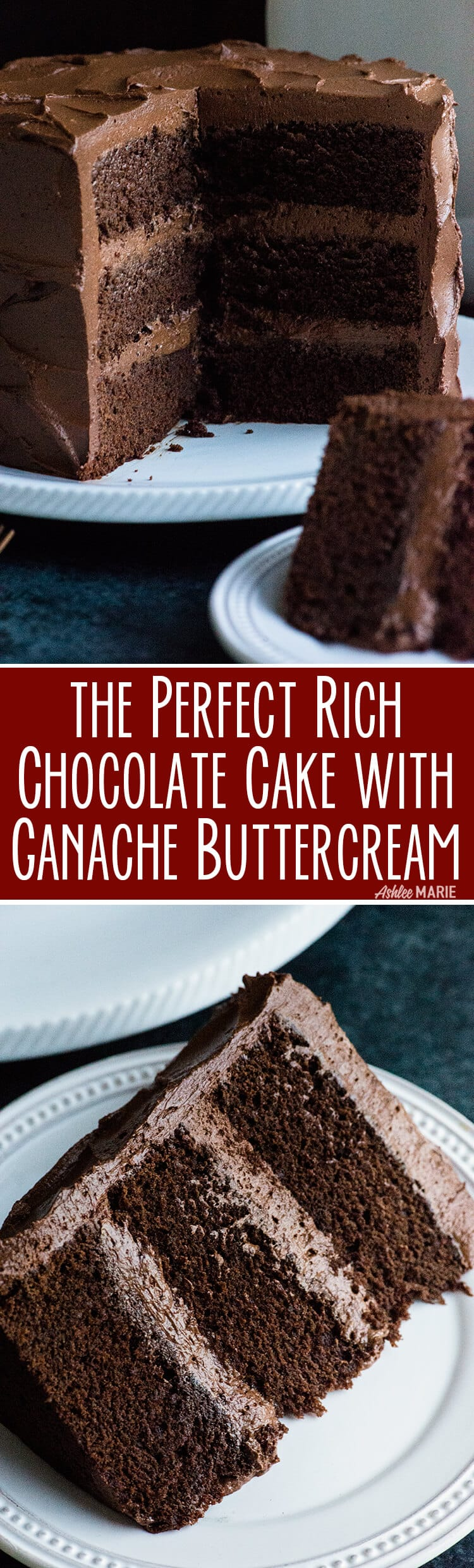 The perfect chocolate cake - from a cake decorator - rich, decadent, moist - video tutorial