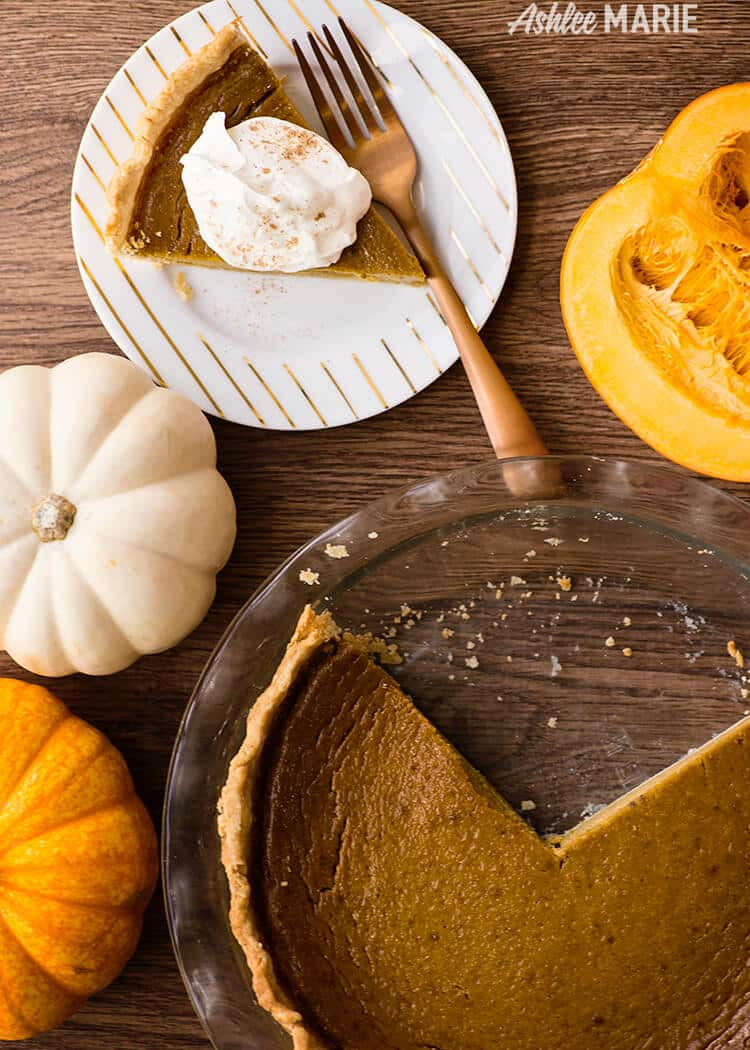 from scratch pumpkin pie recipe