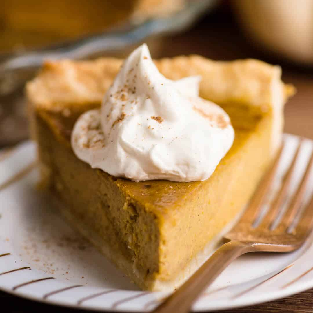 the perfect from scratch pumpkin pie recipe
