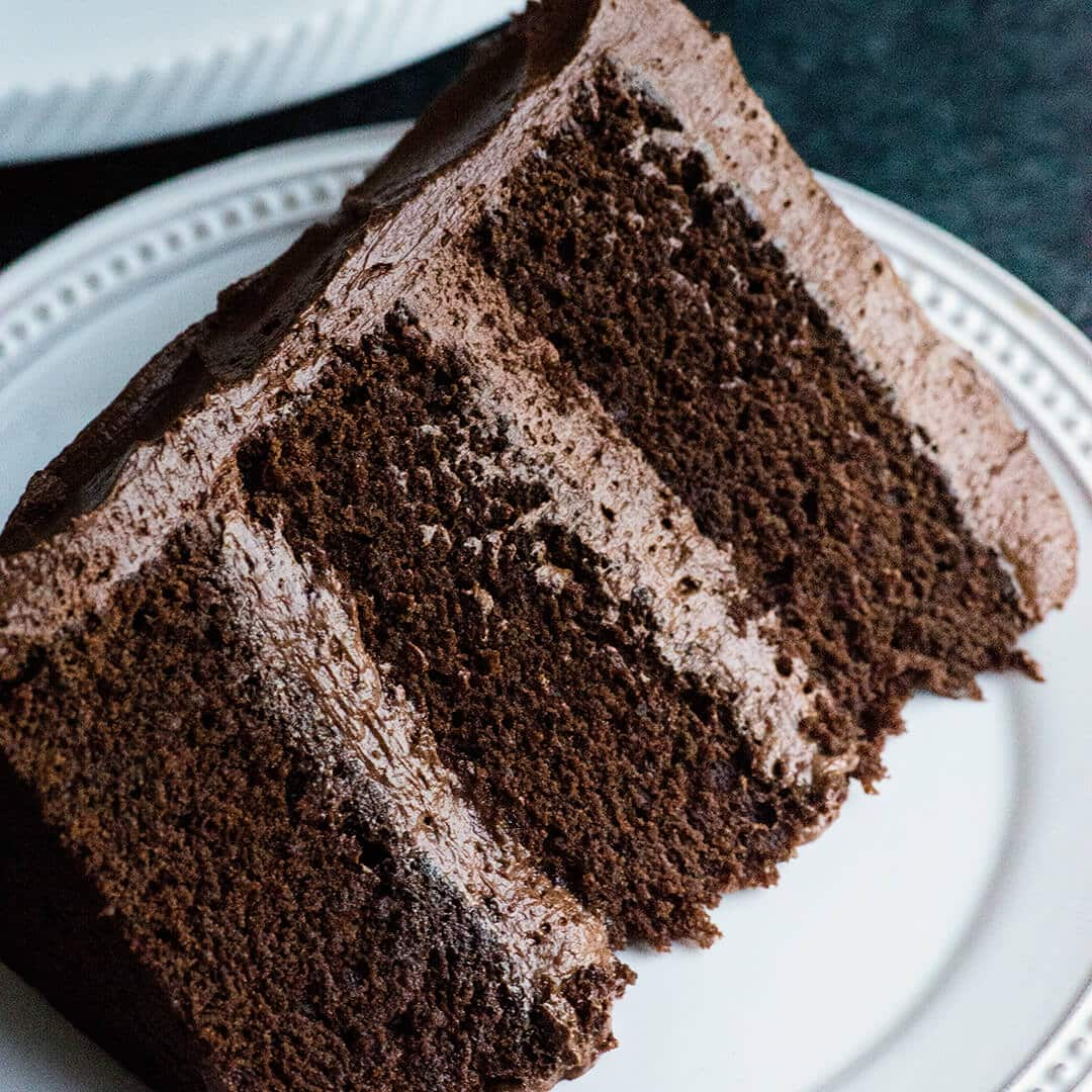 perfect chocolate cake recipe with ganche buttercream rich dense