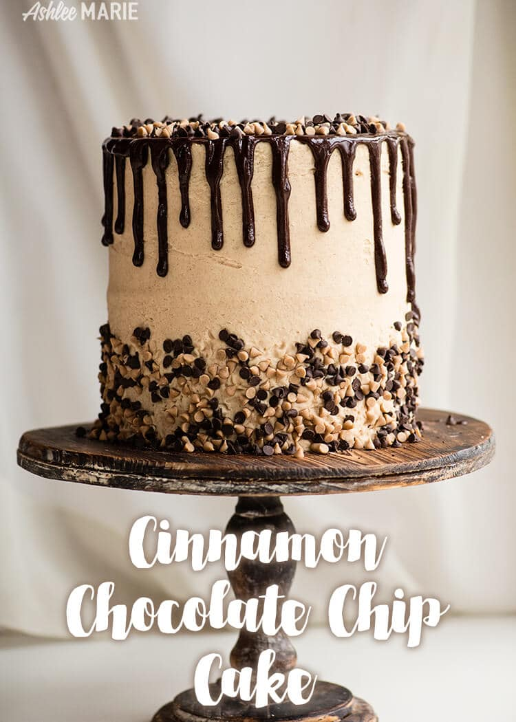 cinnamon chocolate chip cake recipe