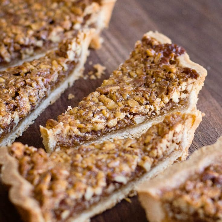 Perfect Pecan Tart Recipe and video tutorial
