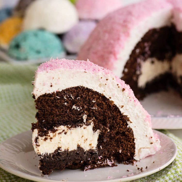 giant copycat sno ball cake