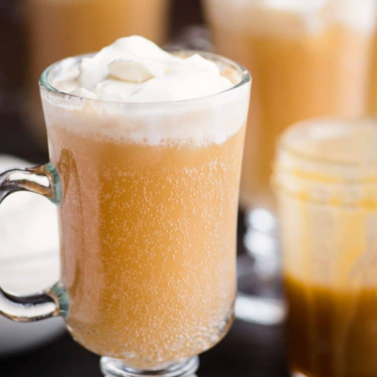 Homemade cold Butterbeer
