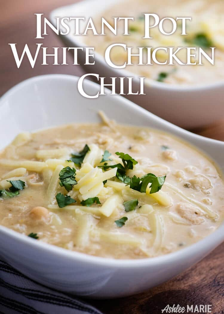 instant pot white chicken chili recipe video