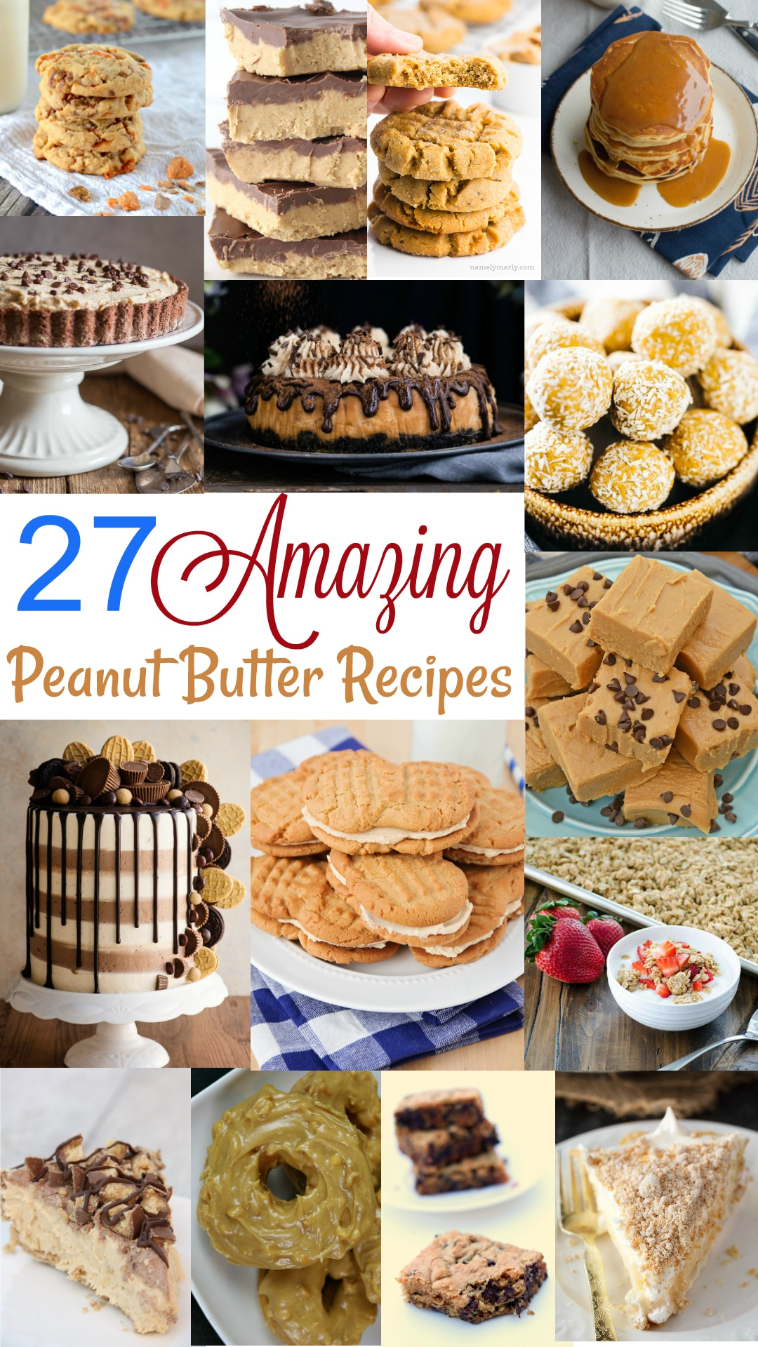 twenty seven amazing peanut butter recipes