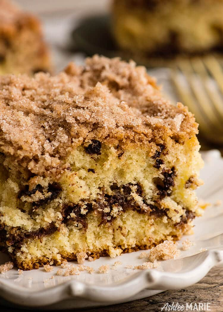 how to make sour cream coffee cake with brown sugar streusel topping