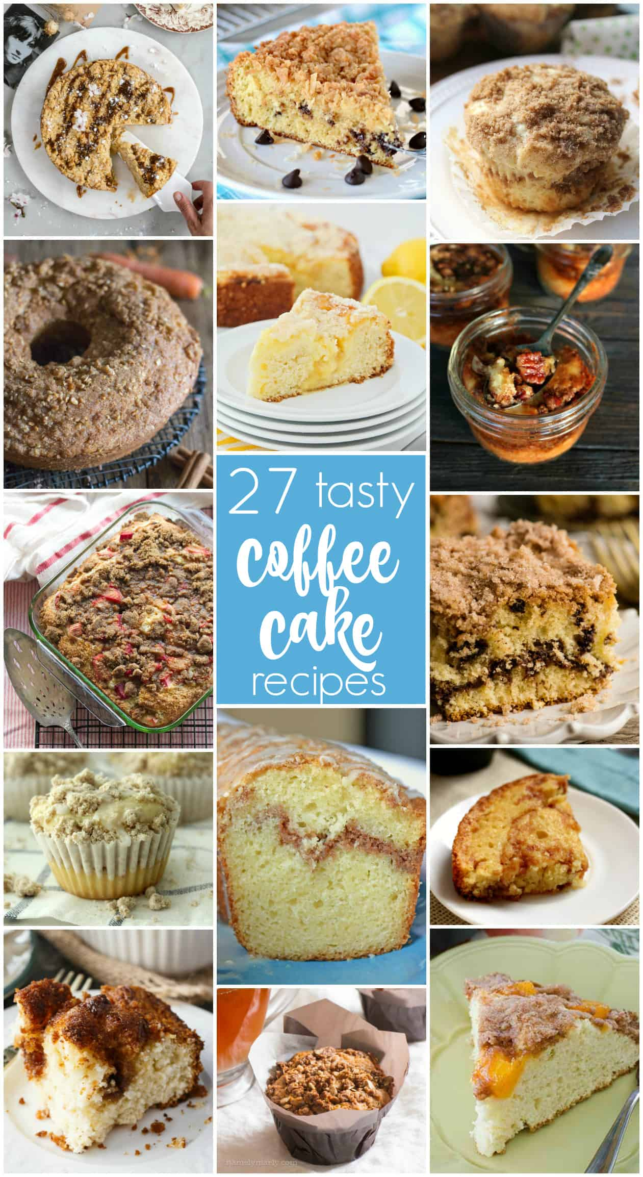 27 tasty coffee cake recipes