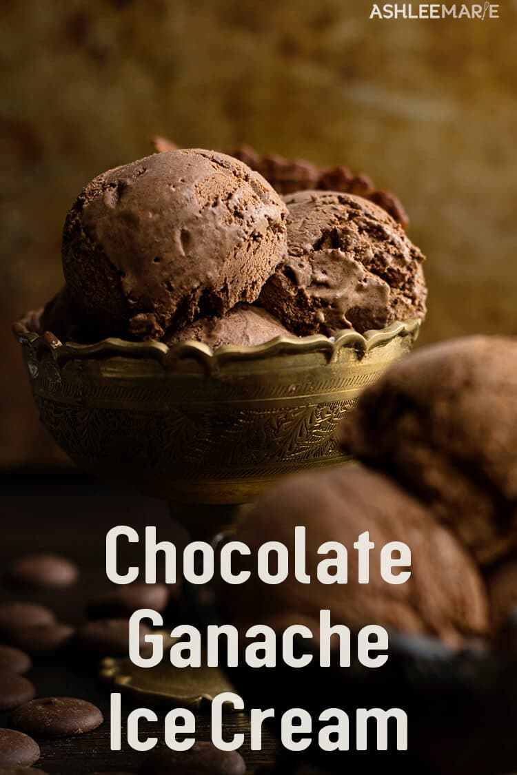 Rich Ganache chocolate ice cream