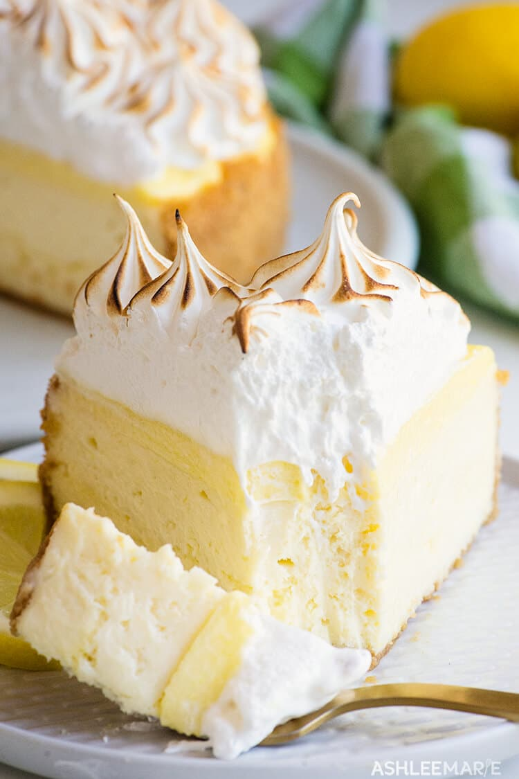 how to make the perfect cheesecake - lemon cheesecake recipe