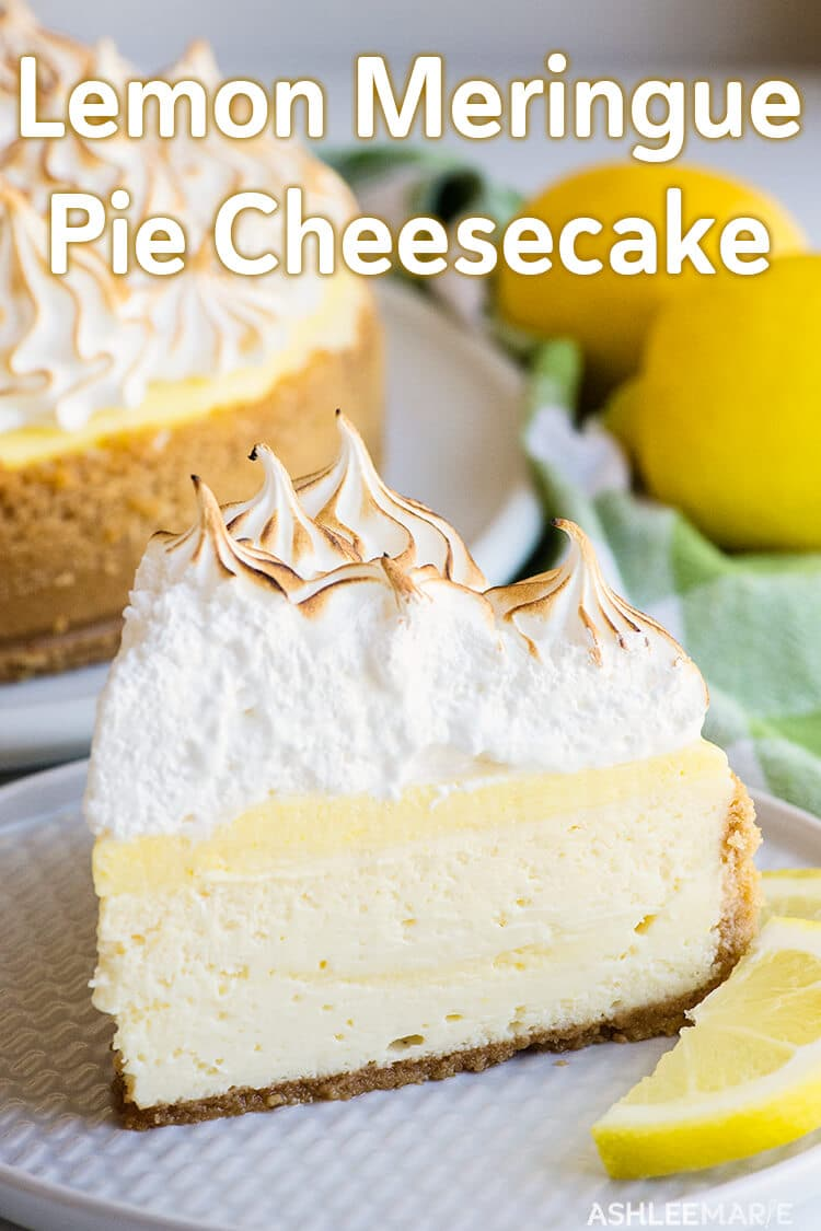 lemon meringue cheesecake recipe video