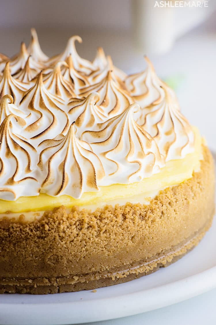 lemon meringue pie cheesecake recipe