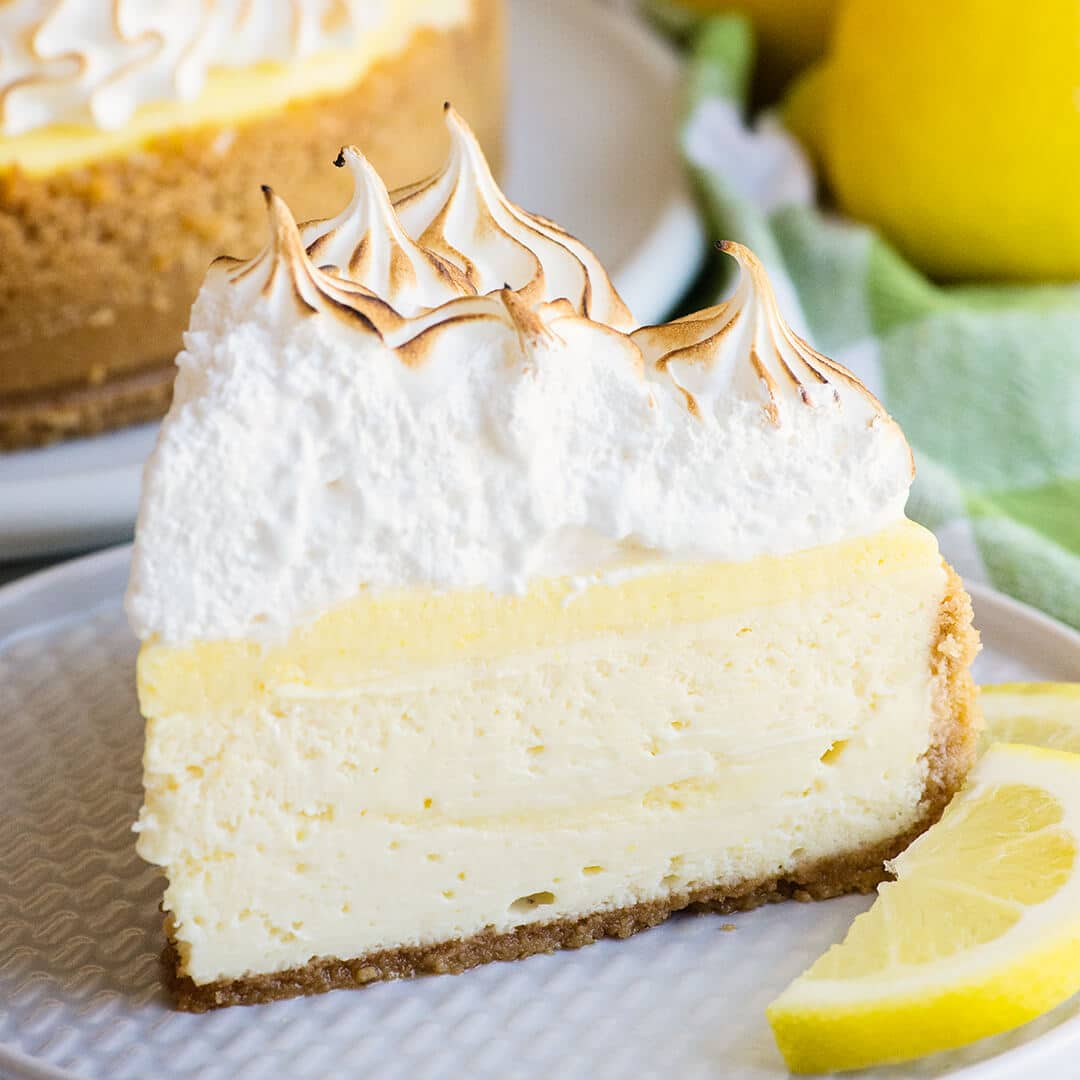 lemon meringue pie cheesecake recipe