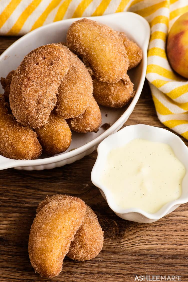 fried peaches state fair food