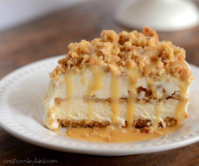 Frozen Caramel Crunch Torte