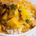 coconut curry chicken instant pot recipe